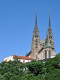 Cathedral, city of Brno, Czech Republic, Europe Royalty Free Stock Image