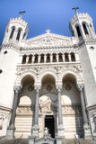 Cathedral in the city centre in Lyon, France Stock Image