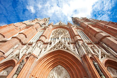 The Cathedral in the city of La Plata Royalty Free Stock Photo