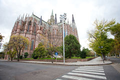 The Cathedral in the city of La Plata Royalty Free Stock Photography
