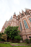 The Cathedral in the city of La Plata Stock Photo