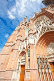 The Cathedral in the city of La Plata Royalty Free Stock Image