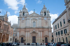 The cathedral city of Midna located on the island of Malta Stock Photos