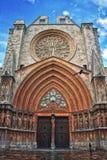 Cathedral of the city Tarragona, Spain Royalty Free Stock Photos