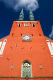 Cathedral in the city of Vaxjo, Sweden Stock Images