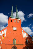 Cathedral in the city of Vaxjo, Sweden Royalty Free Stock Photo