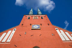 Cathedral in the city of Vaxjo, Sweden Royalty Free Stock Photos