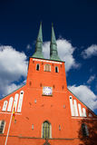 Cathedral in the city of Vaxjo, Sweden Stock Photo