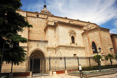 The Cathedral of Ciudad Real, Spain Stock Photos