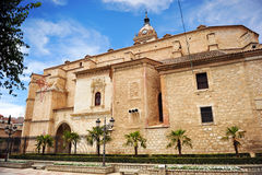 The Cathedral of Ciudad Real, Spain Royalty Free Stock Photo