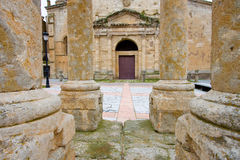 Cathedral of Ciudad Rodrigo Royalty Free Stock Images