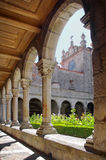 Cathedral Cloister Royalty Free Stock Images