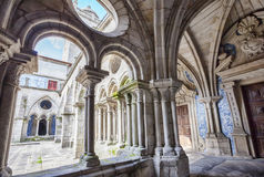 Cathedral cloister Se, Porto Royalty Free Stock Photos
