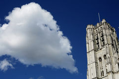 Cathedral and cloud Stock Photography