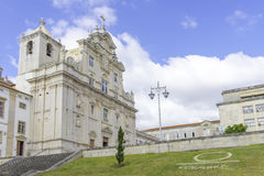 Cathedral of Coimbra stock photo