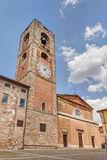Cathedral of Colle di Val d'Elsa, Tuscany, Italy Stock Images
