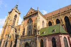 Cathedral colmar Stock Image