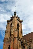 Cathedral of Colmar (Alsace) Royalty Free Stock Images