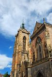 Cathedral of Colmar (Alsace) Royalty Free Stock Photography