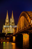 Cathedral of Cologne Stock Images