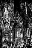 Cathedral in Cologne. Royalty Free Stock Photography