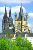 Cathedral of Cologne. Royalty Free Stock Images