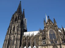 The Cathedral in Cologne Stock Images