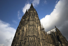 Cathedral in Cologne stock images