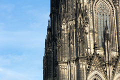 The cathedral of Cologne Stock Images