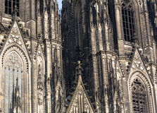 The cathedral of Cologne Royalty Free Stock Photography