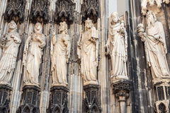 The cathedral of Cologne detail Royalty Free Stock Image