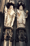 The cathedral of Cologne detail Royalty Free Stock Images