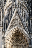 The cathedral of Cologne detail Stock Image