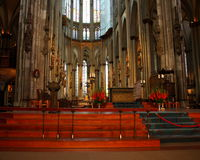 Cathedral in Cologne - Easter Stock Photos Royalty Free Stock Images