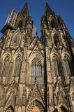 Cathedral in Cologne (Germany). A UNESCO World Heritage site and an astonishing example of gothic architecture Royalty Free Stock Image