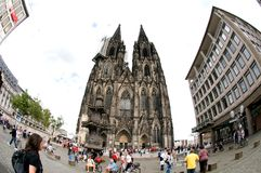 Cathedral of Cologne - Germany Royalty Free Stock Photography