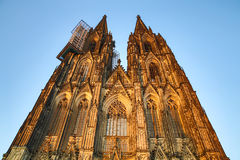 Cathedral of Cologne Royalty Free Stock Photos