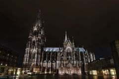 Cathedral in Cologne Royalty Free Stock Image