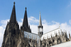 Cathedral Cologne Royalty Free Stock Image