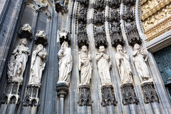 The cathedral of Cologne Royalty Free Stock Photos