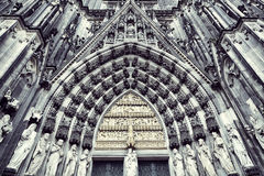 The cathedral of Cologne Royalty Free Stock Images
