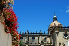 Cathedral, Jerez de la Frontera, Spain. Stock Images