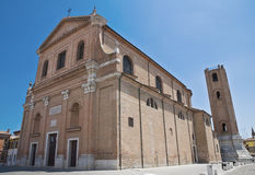 Cathedral of Comacchio. Emilia-Romagna. Italy. Stock Images