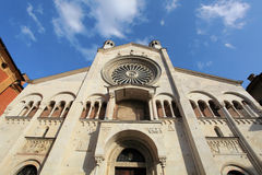 Cathedral of Como Royalty Free Stock Photo