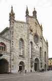 Cathedral in Como. Lombardy. Italy Stock Images
