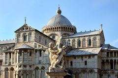 Cathedral complex in Pisa. Duomo Royalty Free Stock Photo