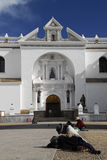 Cathedral of Copacabana, Bolivia Royalty Free Stock Images