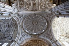 Cathedral of Cordoba stock images
