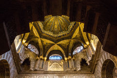 Cathedral of Cordoba. La Mezquita-Cathedral of Cordoba. The structure is regarded as one of the most accomplished monuments of Moorish architecture Royalty Free Stock Images
