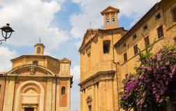 Cathedral of Corinaldo Royalty Free Stock Photos